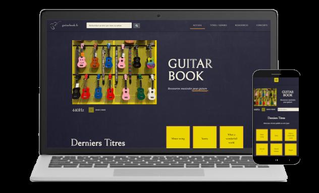 Guitar Book Portfolio Ergocom